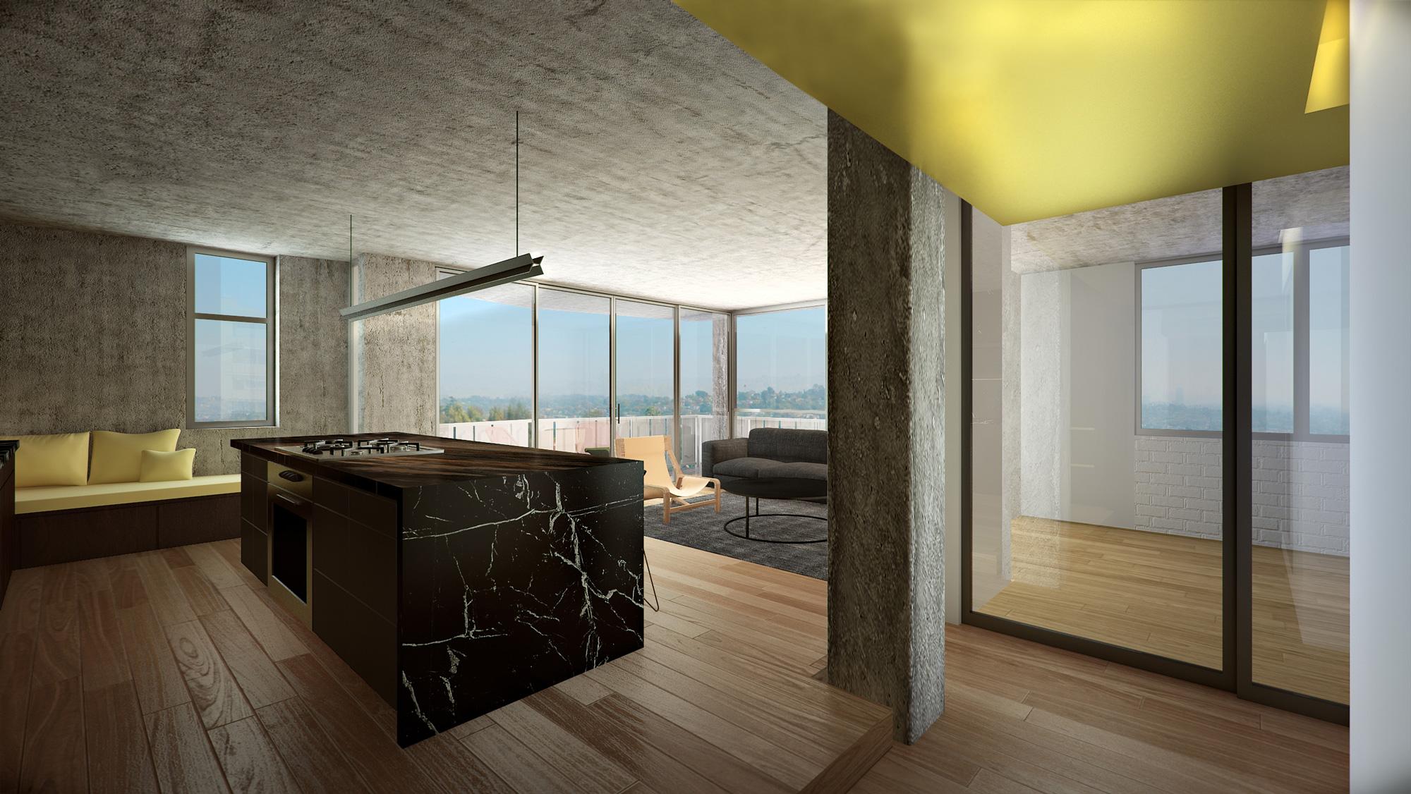 Loft 3D Rendering