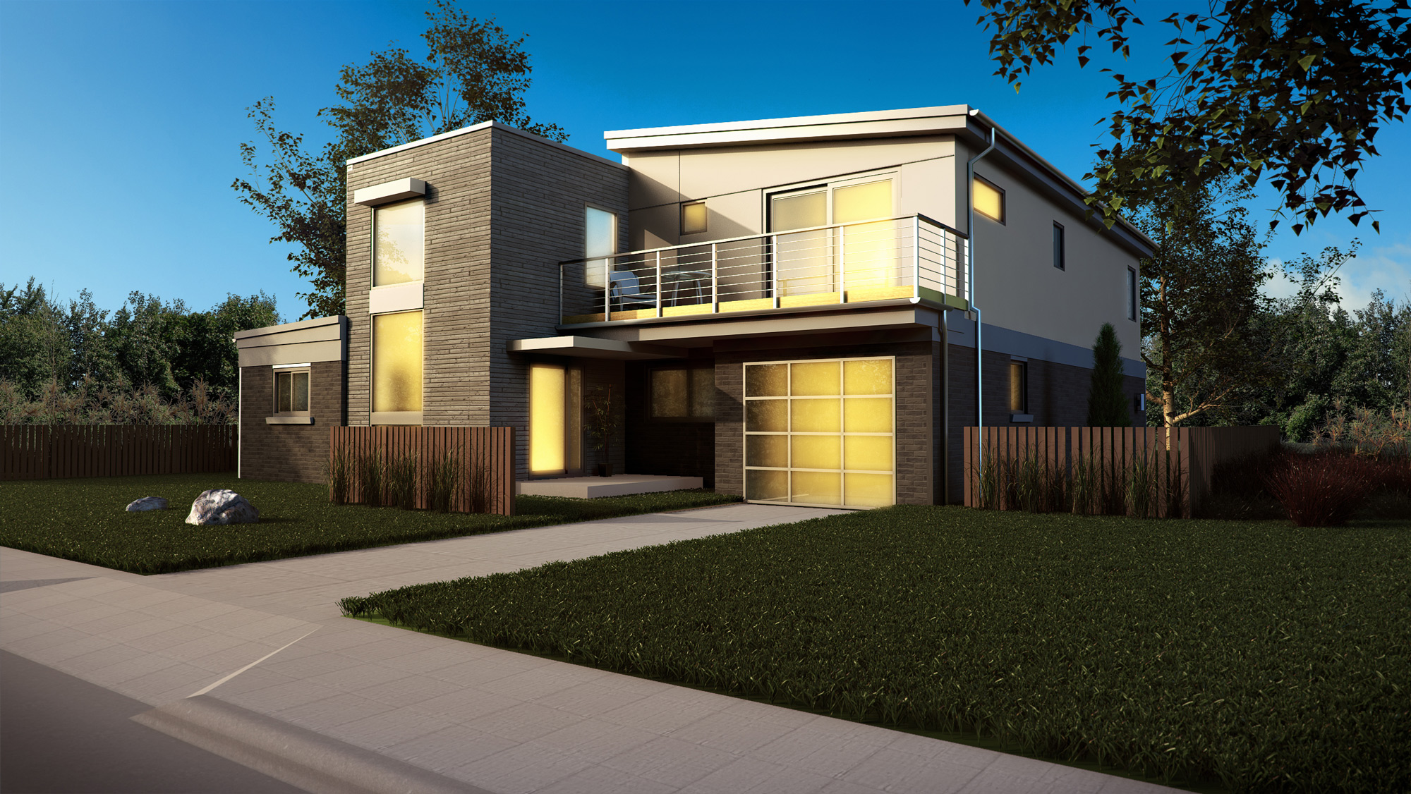 Exterior renderings by american render top quality 3d for Exterior 3d rendering