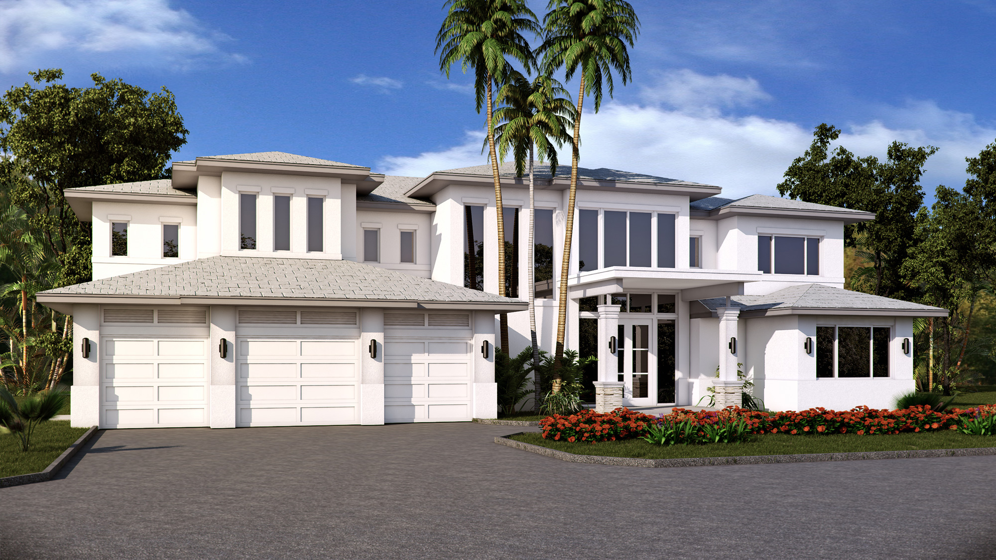 Florida Home 3D Render