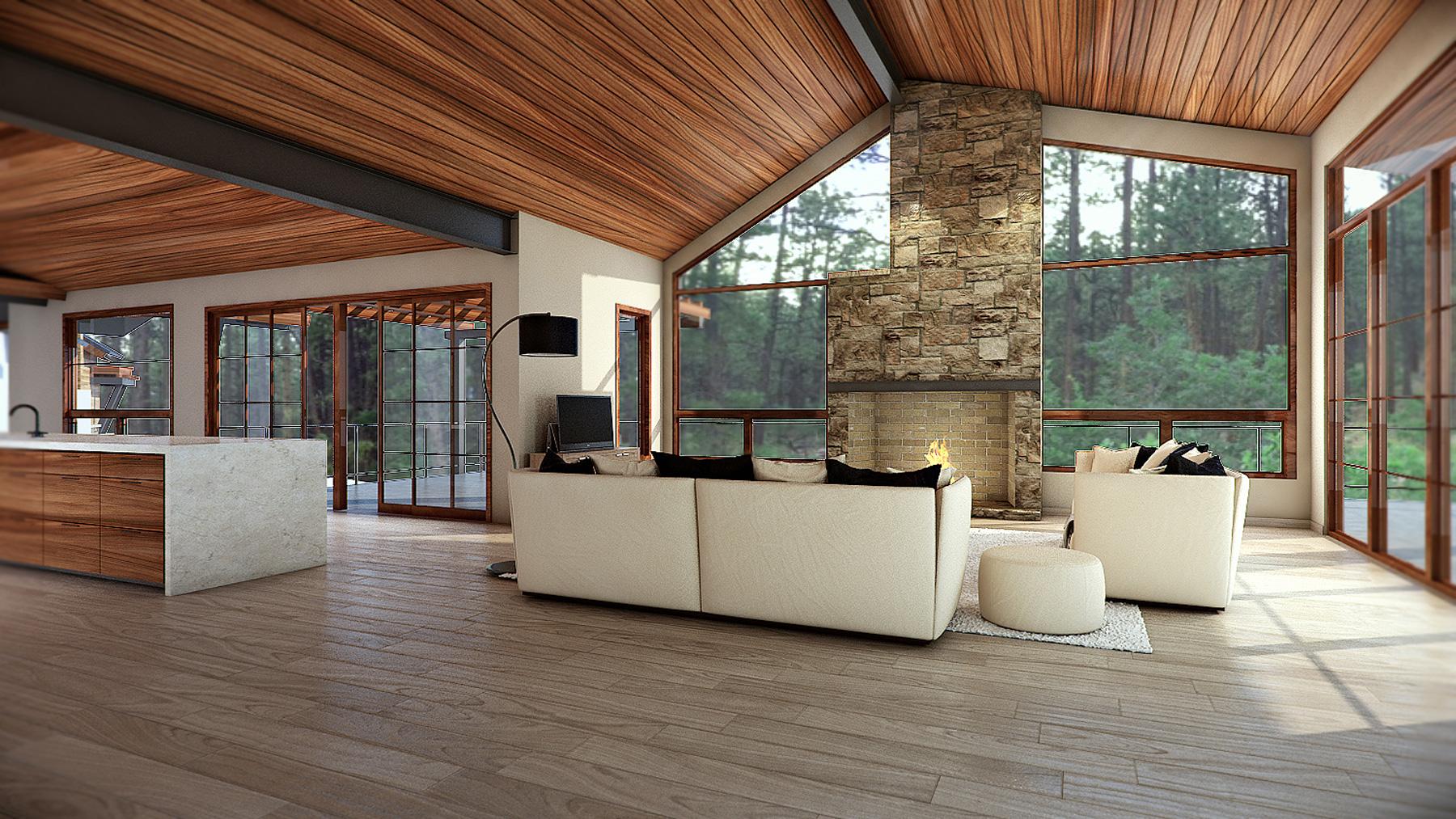 Colorado Home 3D Render