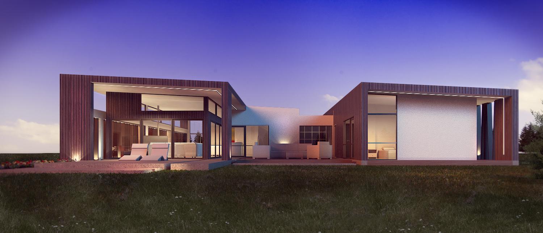 Custom Exterior 3d House