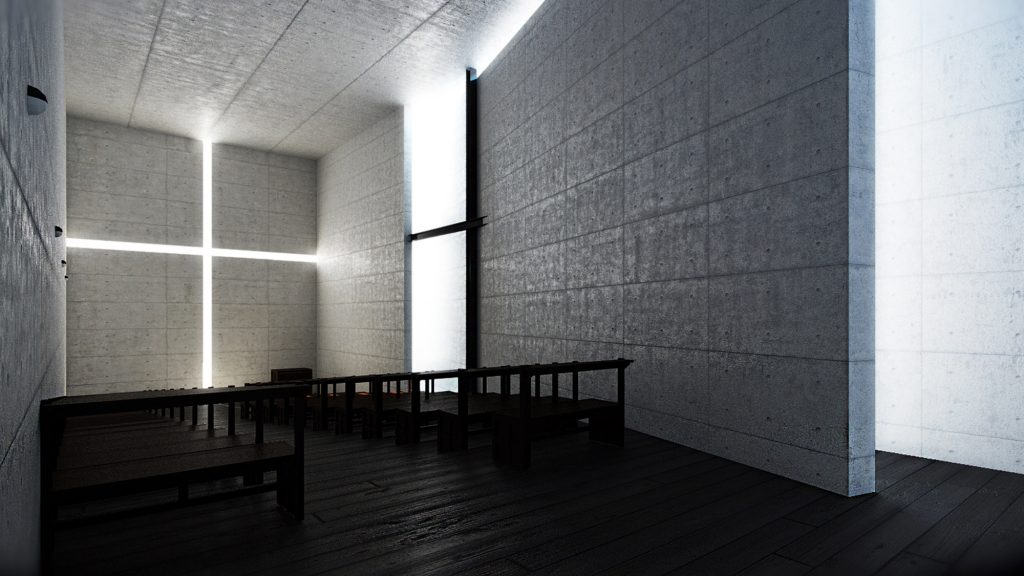 Church 3D Render