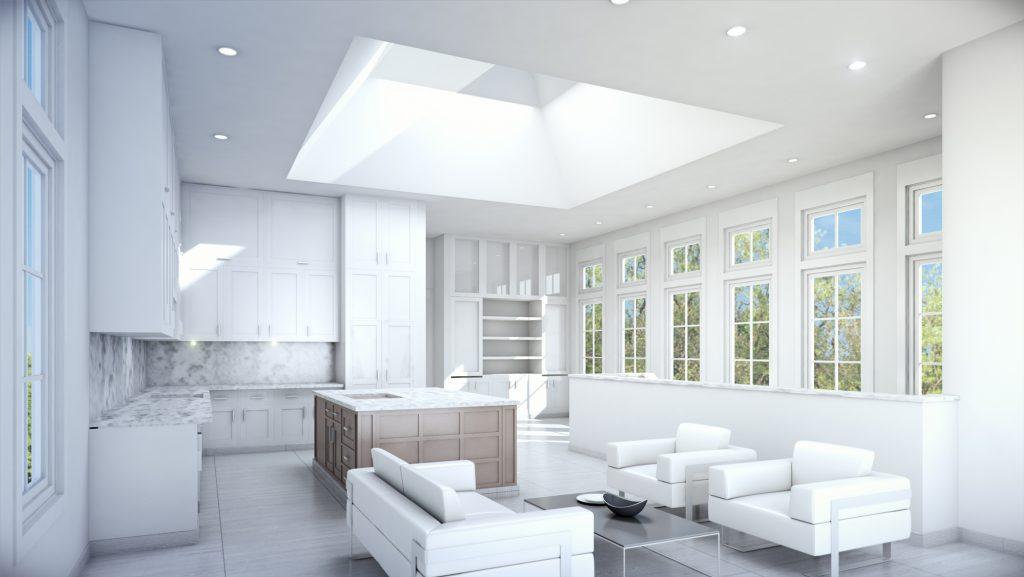 Modern Home 3D Render