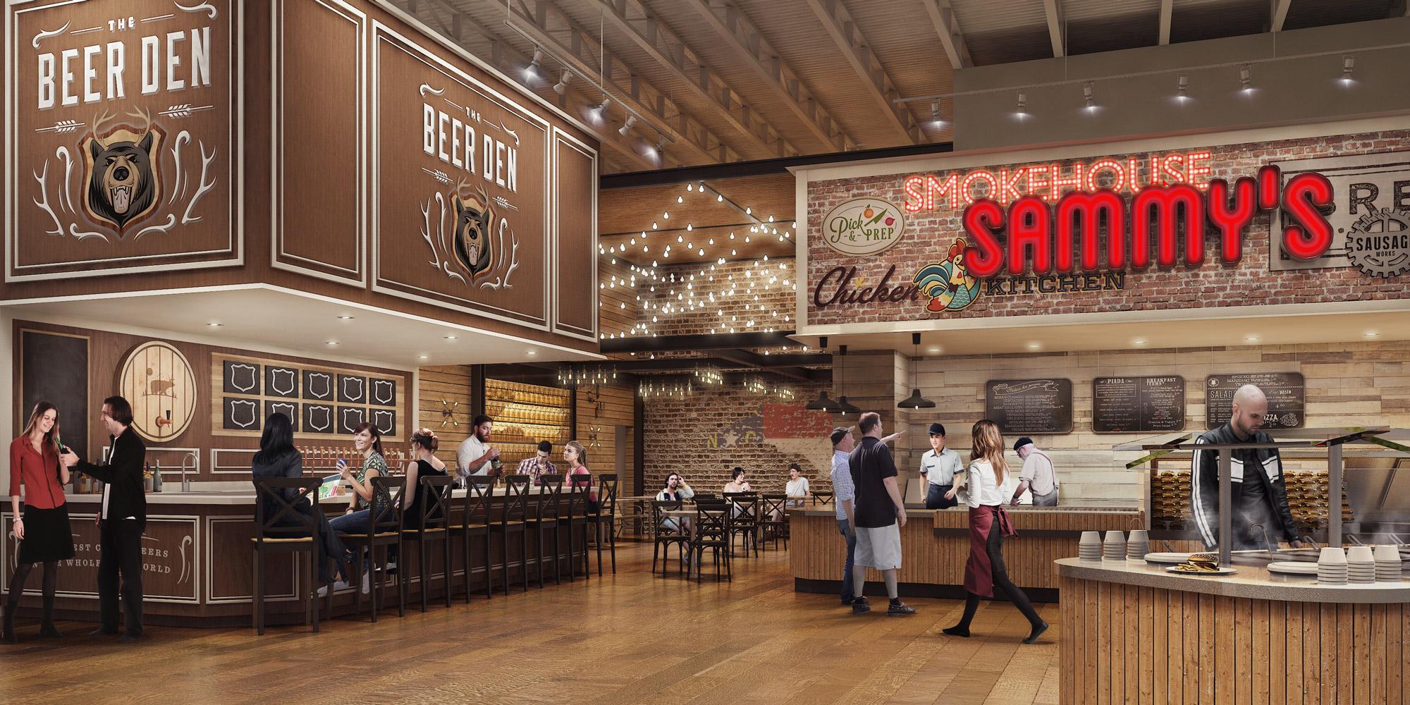Custom Restaurant 3D Image