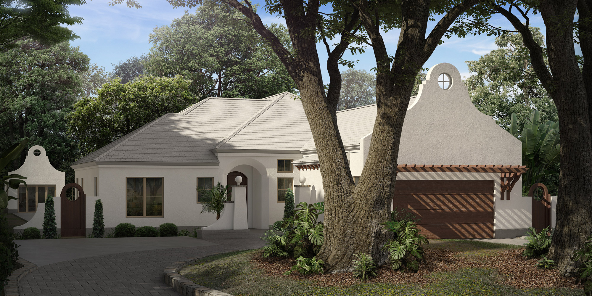 Residential Home 3D Rendering