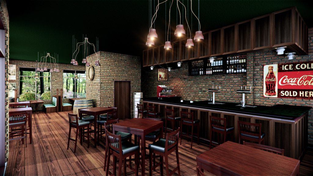 Custom Bar 3D Render